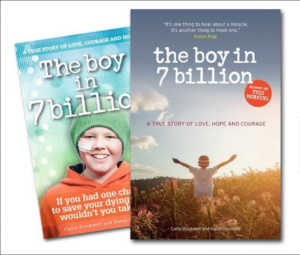 Callie Blackwell's book The boy in 7 billion