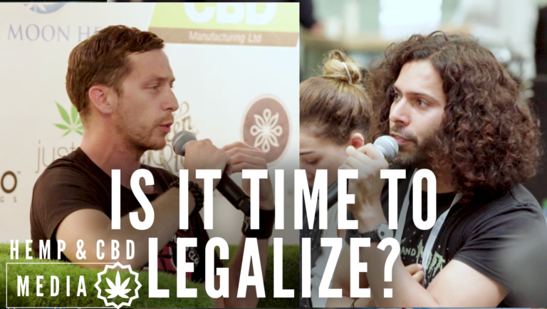 Is it time to legalize? watch the Hemp & CBD Expo activist panel